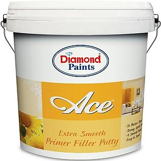 Diamond Ace Extra Smooth Primer Filler Putty 5 Kgs (Gallon size)