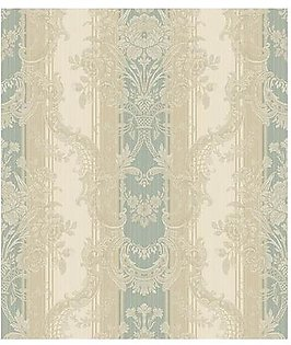 Wall Master MA90804 Floral Stripe wall paper