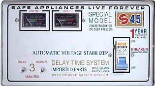 SG 1600 W Automatic Voltage Stabilizer S-45