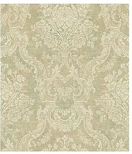 Wall Master MA92104 Garden Floral Faux Finish wall paper
