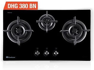 Dawlance DHG 380 BN – Kitchen Hobs – Tempered Glass – Faster Heating