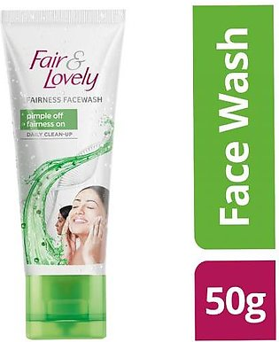 Fair & Lovely Fairness Facewash Pimple Off Daily Clean-up 50 gm