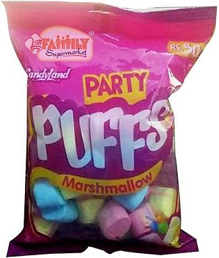 Candyland Party Puffs Marshmallow
