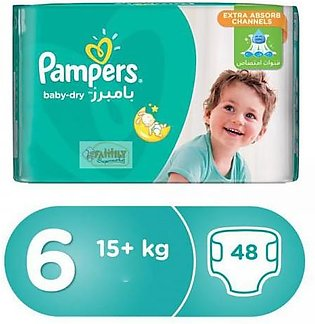 Pampers 6 Extra Large 48 Pcs