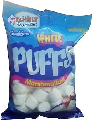 Candyland White Puffs Marshmallow