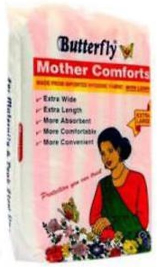 Butterfly Mother Comforts Extra Large 10 Pcs