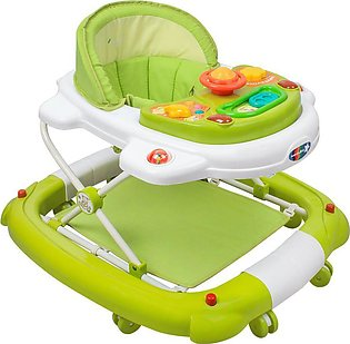 Infantes 2-In-1 Baby Walker Rocker – Green