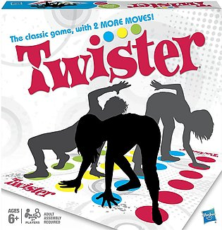 Funny Kids Cuerpo Twister moves Mat Board Game