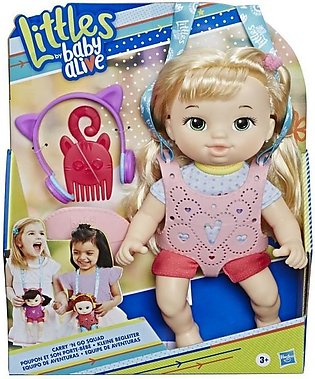 Hasbro Littles By Baby Alive, Carry N Go Squad