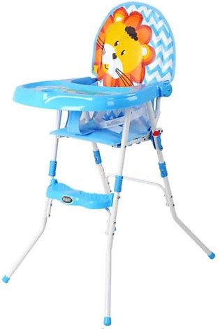 2 in 1 Baby High Chair With Safety Belt Lion
