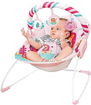 Mastela Baby Toddlers to Newborn Musical Chair Rocker and Bouncer Lion
