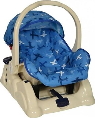 Tinnies Carry Cot Rocking Blue