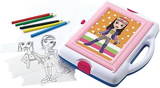 Playgo Trace It Up Fashion Artist Battery Operated
