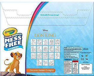 Crayola Lion King Pages & Markers Color Wonder Pad