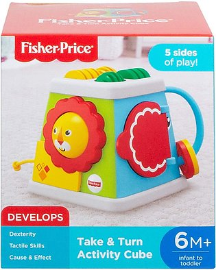 Fisher Price 5 Sided Activity Cube Baby Activity