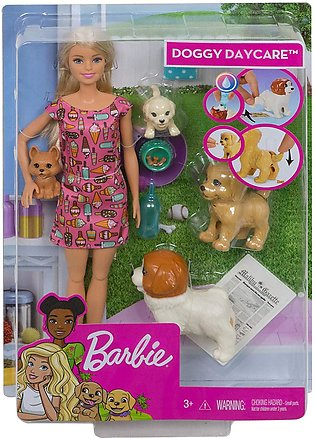 Barbie Doggy Daycare Doll with Accessories