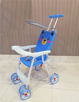Bear Baby Push Chair With Parental Handling
