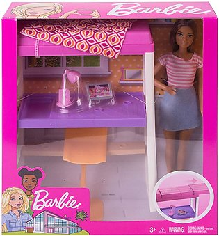 Barbie Loft Bed Playset