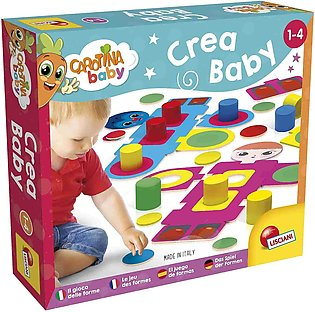 Lisciani Crea Baby The Game Of Shapes
