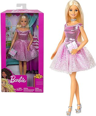 Barbie Happy Birthday Doll & Accessory – HAT