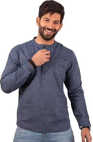 FMTS20-31285 – Casual Shirt – Stone Blue