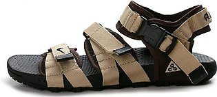 Nike Brown and Cream Sandals for Men