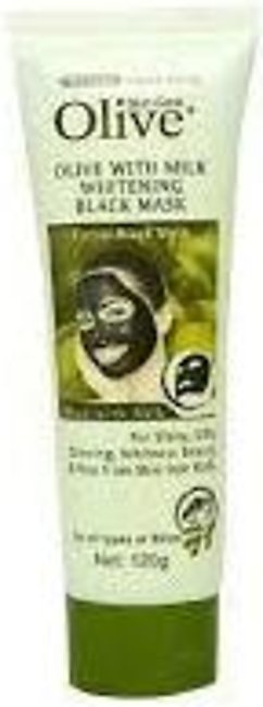 Olive Face Charcoal Mask