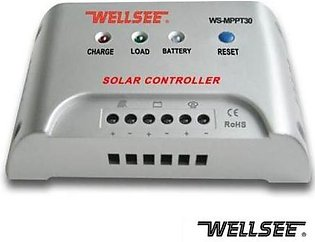 Wellsee Mppt Solar Charge Controllers 30Amp
