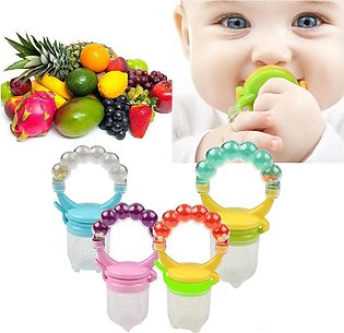 FLOWER BABY Fresh Fruit Baby Pacifier with Rattle