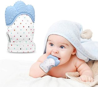 Silicone Baby Teether Pacifier Glove Natural Thumb