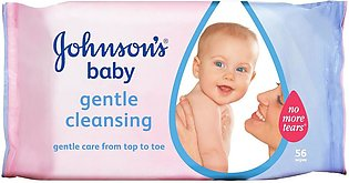 Johnson s Baby Gentle Cleansing Wipes 56 Pcs