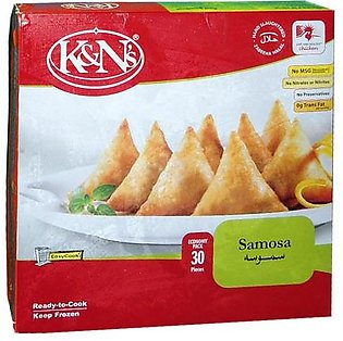 K&n s Chicken Samosa Economy Pack (30 Pieces)
