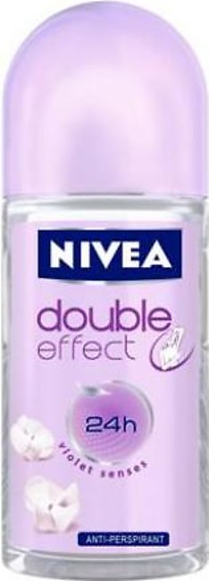 Deodorants and perfumes - Nivea Roll-on Double Effect (50ml)
