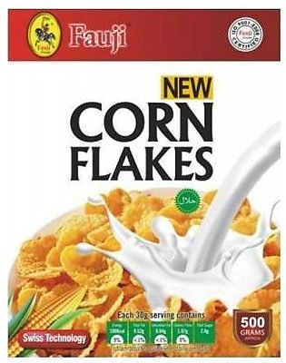 Breakfast Cereals - Fauji Corn Flakes 500gms