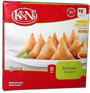 K&n s Chicken Samosa Standard Pack (15 Pieces)