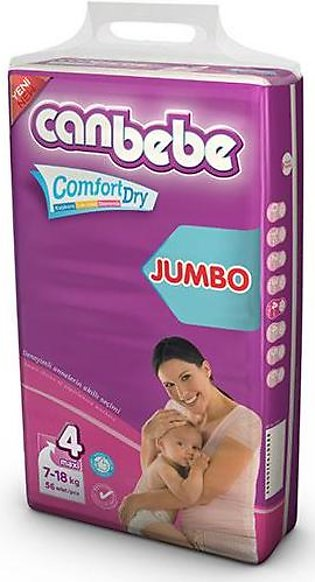 CANBEBE Diapers JUMBO PACK MAXI 7-18KG (60PCS)