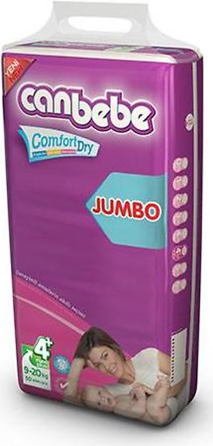 CANBEBE Diapers JUMBO PACK MAXI PLUS (54PCS)