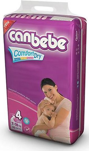 Canbebe Diapers Jumbo Pack 7-18Kg Junior (40Pcs)