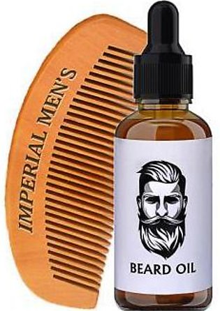 Imperial Men Beard Oil 30 ml and Wooden Comb