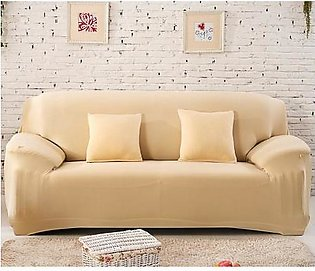 5 Seater Sofa Cover Fawn