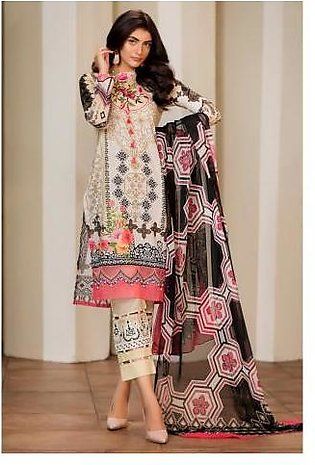 Sifona 3 Pcs Unstitched Suit MSC-05 Beige