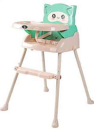 Mama & Baby 3 in 1 High Chair For Baby QH1-716 Green