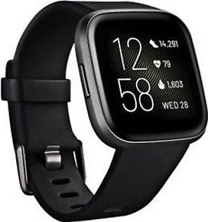 Fitbit Versa 2 Health and Fitness Smart Watch Black