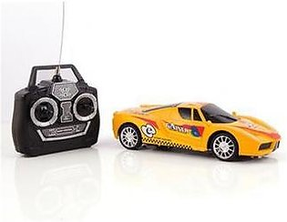 High Speed Remote Control Car Yellow