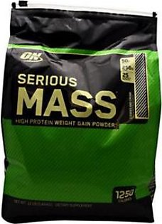 Optimum Nutrition Serious Mass Cookies & Cream Flavour 12 lbs