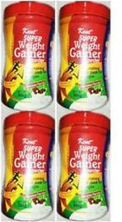 Kent Pack of 4 Super Weight Gainer