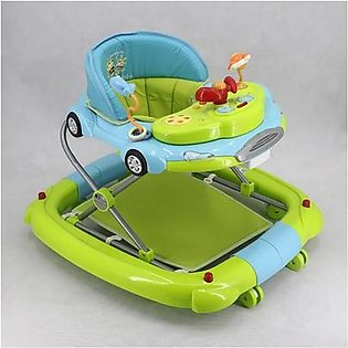 Mama & Baby Walker with Rocker T1086H Blue & Green