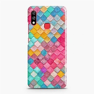 Skinlee Hard Case For Infinix Hot 7 Pro SK-1404 Multicolor