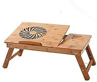 Laptop Table Multipurpose Stand Adjustable Wooden
