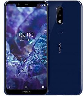 Nokia 5.1 Plus | Dual Sim | 3 GB RAM | 32 GB ROM | Blue
